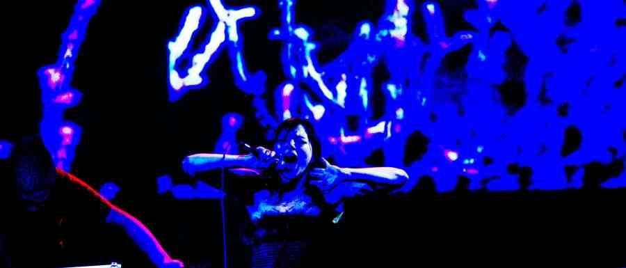 Michael Red & Tanya Tagaq at Vancouver 2010 Cultural Olympiad