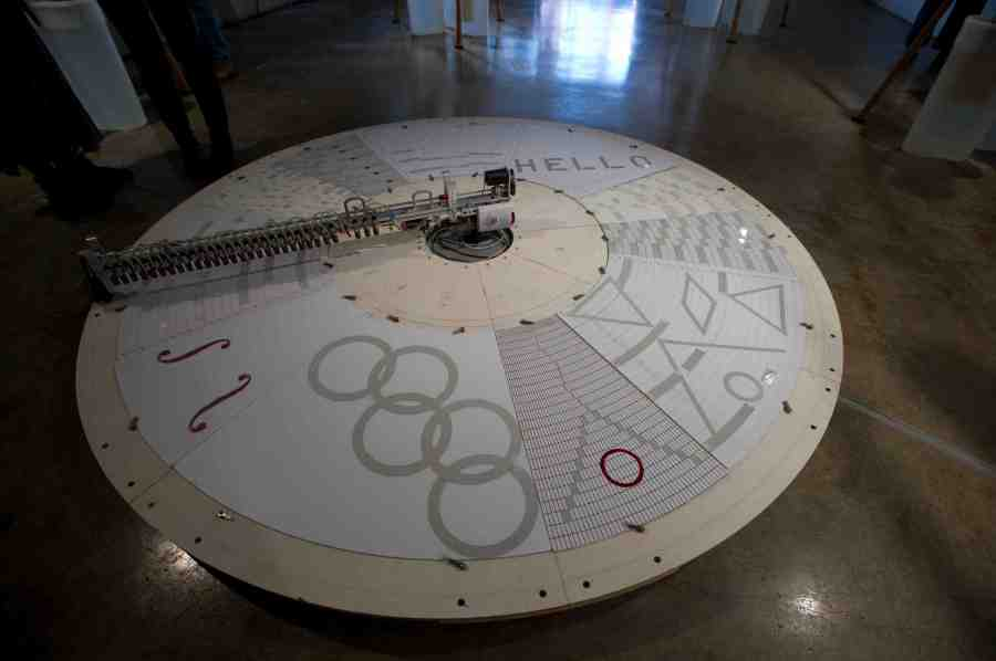 Sheng High by Trimpin at Vancouver 2010 Cultural Olympiad