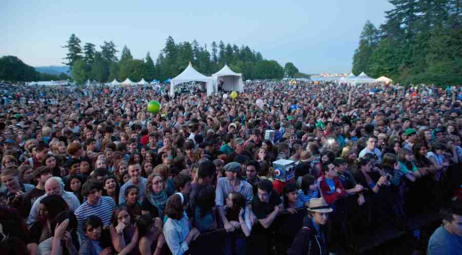 Summer Live Main Stage Audience (Brockton Point, Stanley Park)